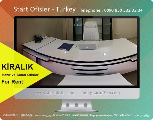 İstanbul türkiye kiralık mobilyalı ofis