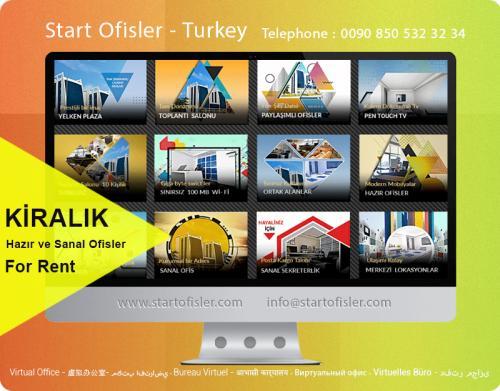 İstanbul türkiye kiralık ofis ilanları