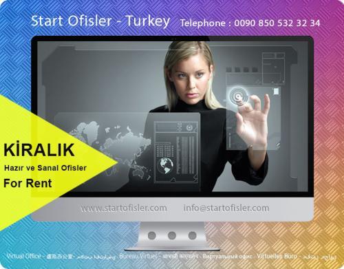 İstanbul türkiye kiralık sanal ofis