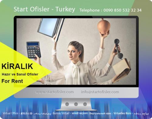 İstanbul türkiye mobilyalı ofis