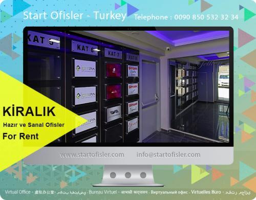 İstanbul türkiye sanal ofis