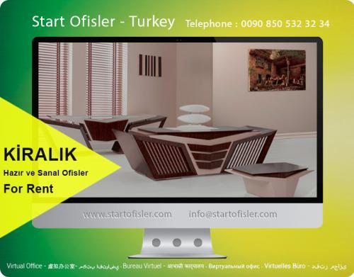 istanbul türkiye kiralık mobilyalı ofis