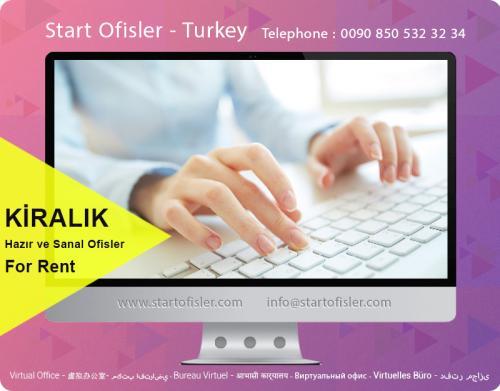 istanbul türkiye sanal ofis kiralık