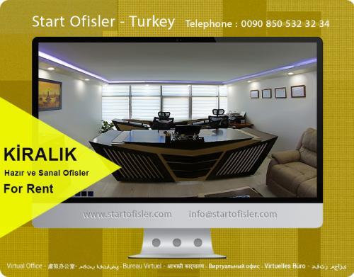 istanbul türkiye sanal ofisler