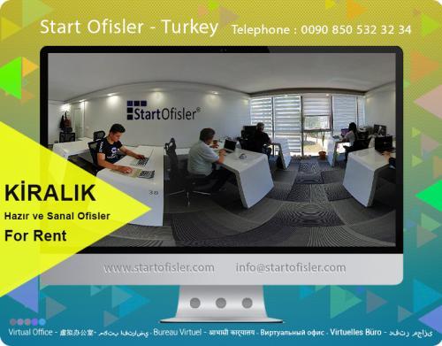 kiralık sanal ofis istanbul türkiye